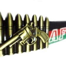 Belt with Bullets Buckle